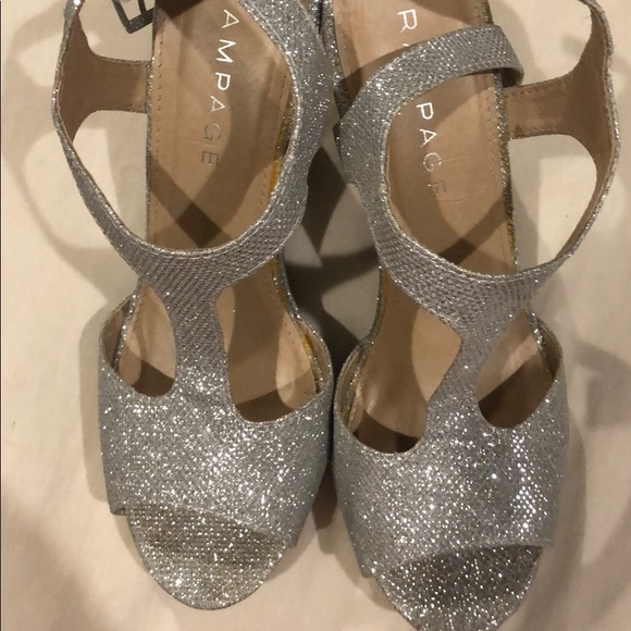 Rampage Shoes - Rampage Sparkly Wedges